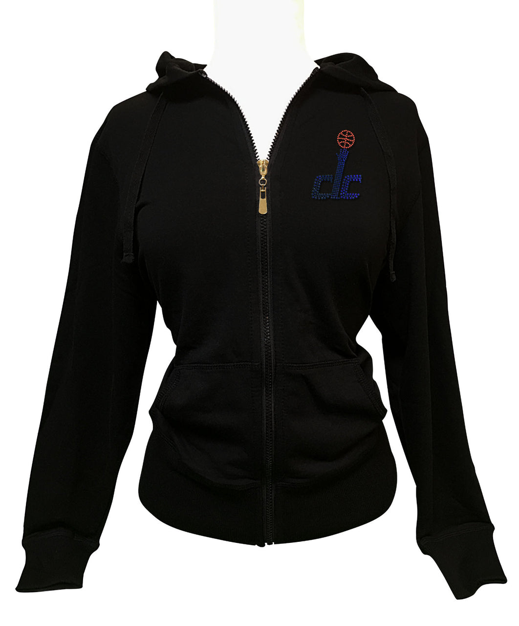 Official Washington Wizards Rhinestone Hoodie