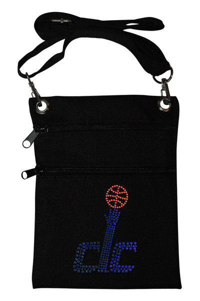 Washington Wizards Mini Cross Body Accessory Bag