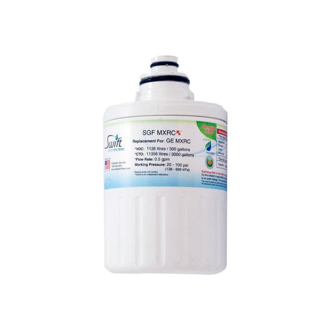 Replacement GE Smartwater FXRC MXRC 46-9905 Refrigerator Water Filter SGF-MXRC Rx - The Filters Club
