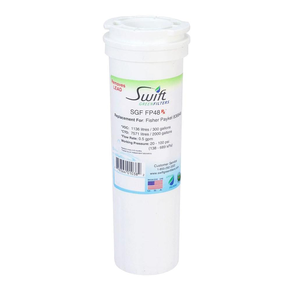 Replacement Fisher&Paykel 836848 WF296  Refrigerator Water Filter SGF-FP48 Rx - The Filters Club