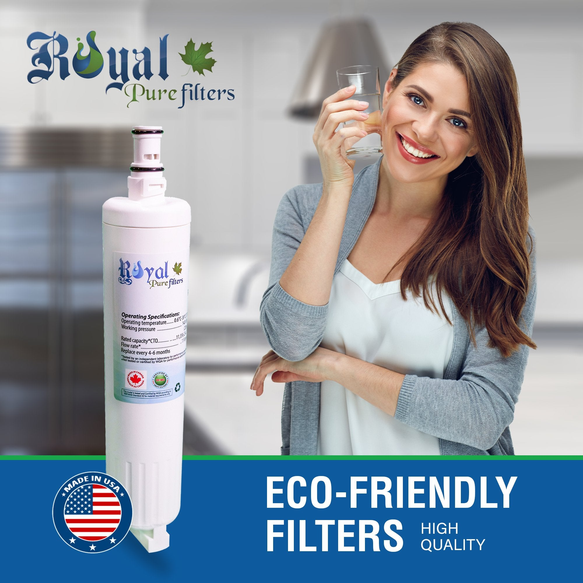 EveryDrop EDR5RXD1 Compatible CTO Refrigerator Water Filter