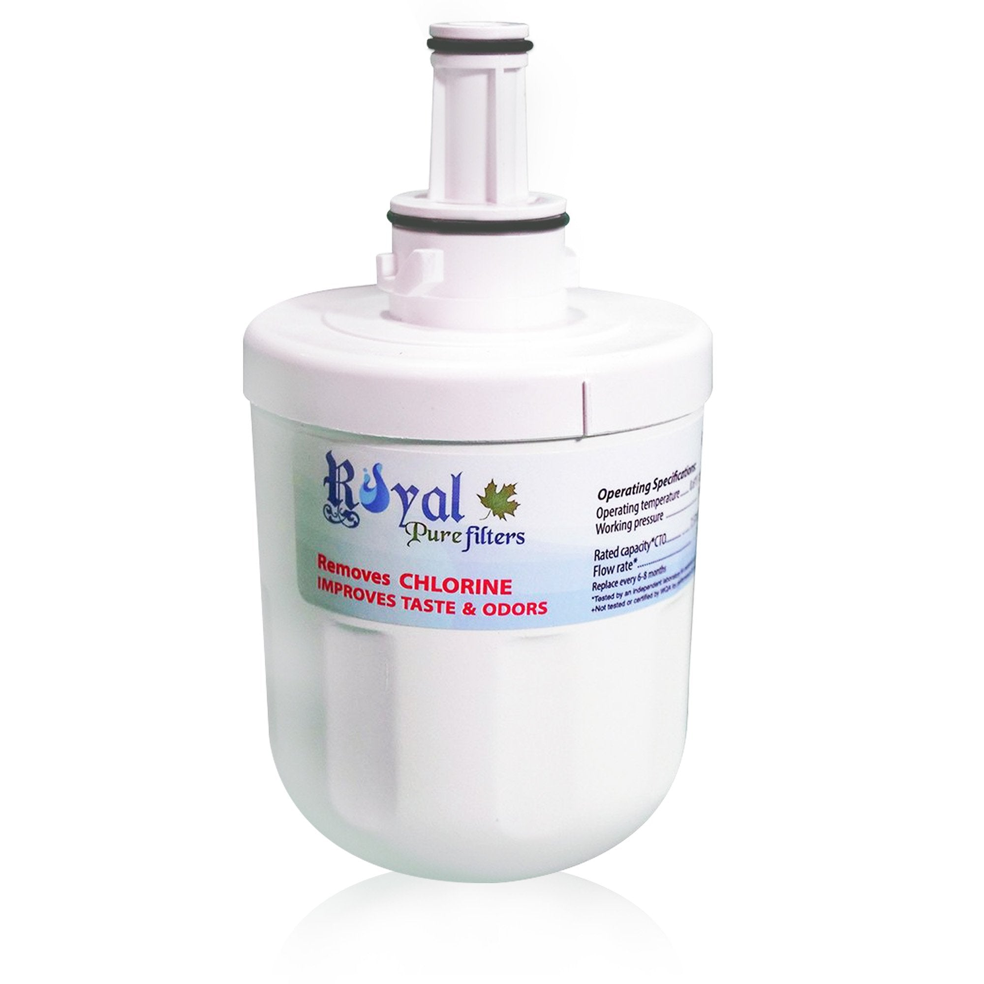 EveryDrop EDR6D1, Whirlpool 4396701/6701 & Kenmore 46-9915 Compatible CTO Refrigerator Water Filter