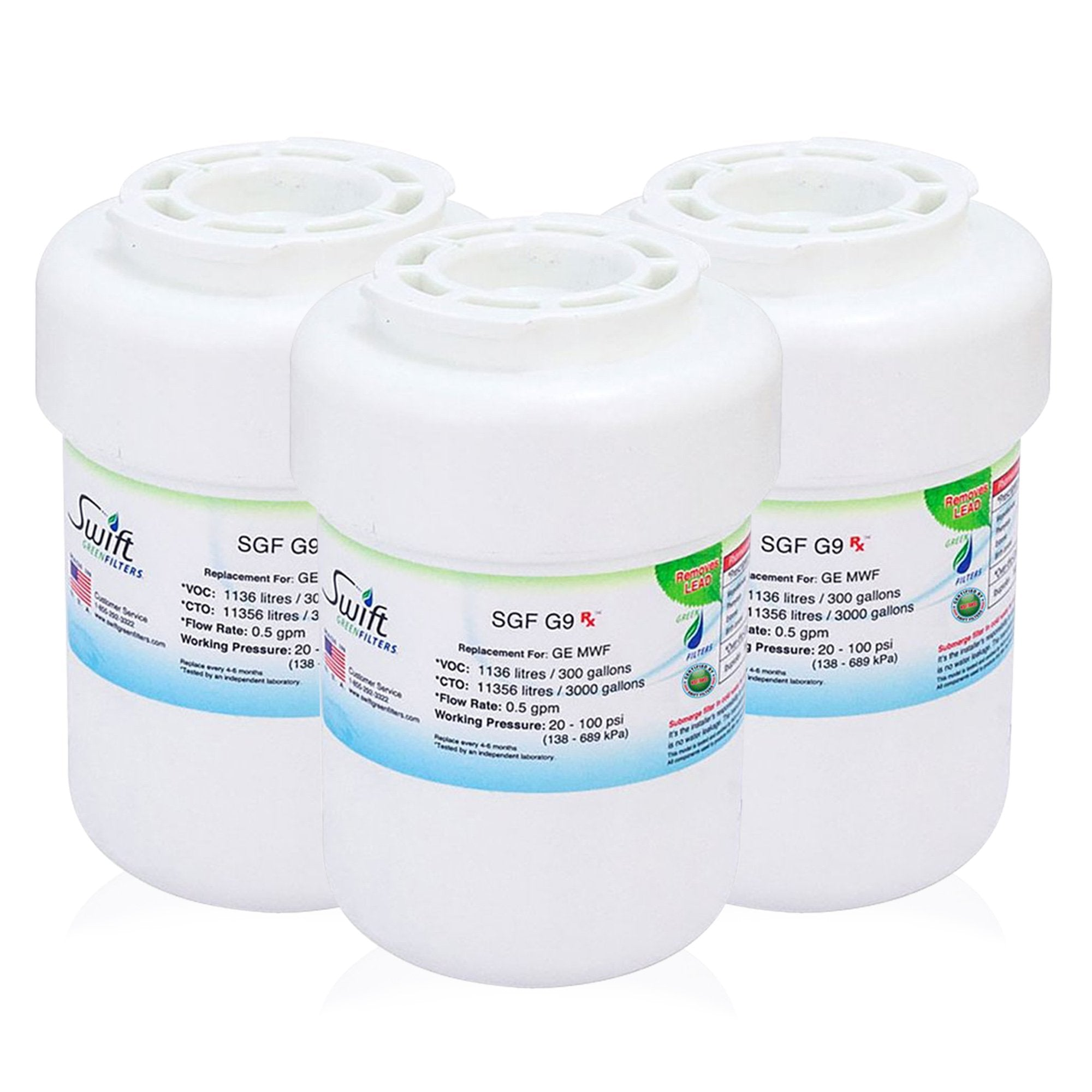 GE MXRC Compatible Pharmaceutical Refrigerator Water Filter