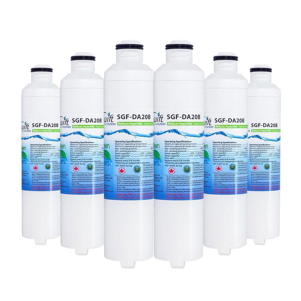 EcoAqua EFF-6027A Compatible VOC Refrigerator Water Filter - The Filters Club