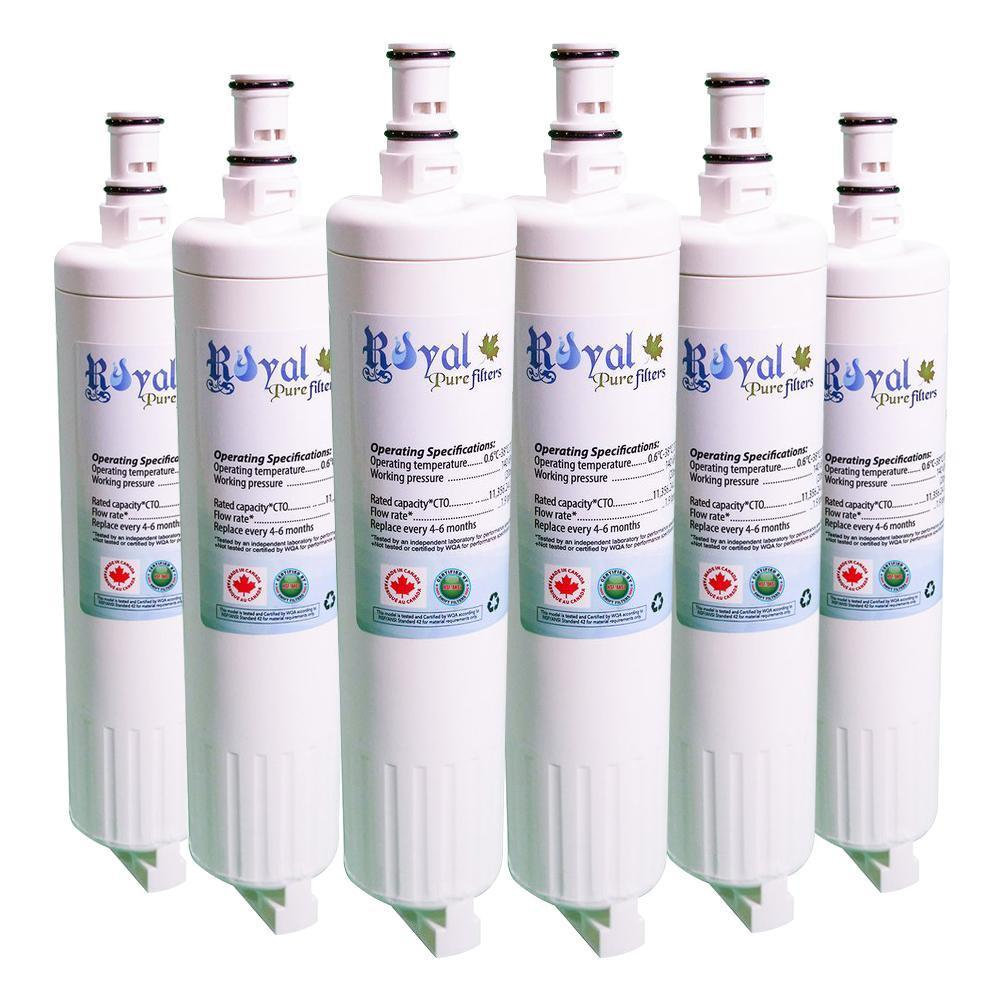 Whirlpool 4396510 Compatible CTO Refrigerator Water Filter