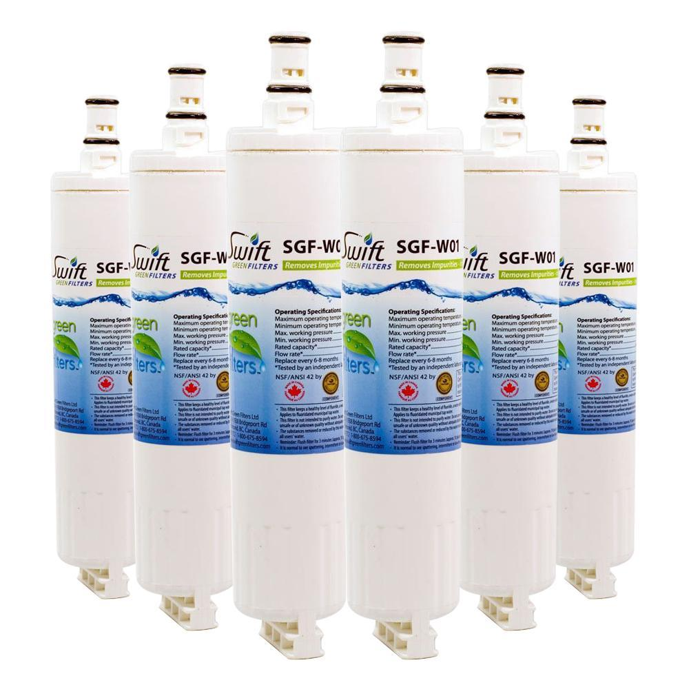 Replacement Whirlpool 4396508 4396510 EDR5RXD1 Refrigerator Water Filter SGF-W01 - The Filters Club