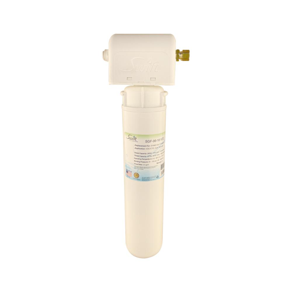 SGF3- 14-MAX-Rx (Single Candle System) Under the Sink System with ultra high Capacity,Direct Connect Fittings-Removes Pharmaceutical ,VOC, Chlorine,Arsenic, Lead,Heavy metals,CTO - The Filters Club