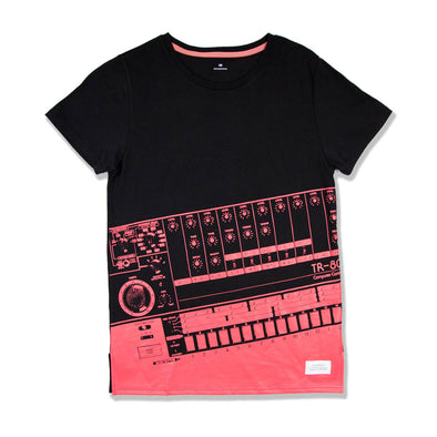 808 coral tee