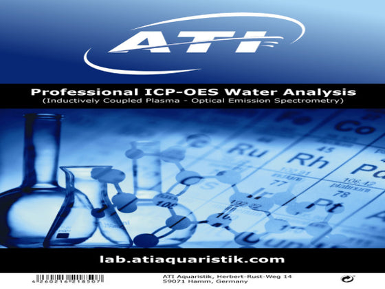 ATI ICP-OES Water Analysis Kit, Dry Goods - Whitlyn Aquatics - Live Coral