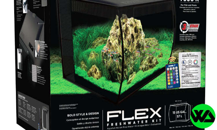 Fluval Flex 15g Aquarium Kit Freshwater