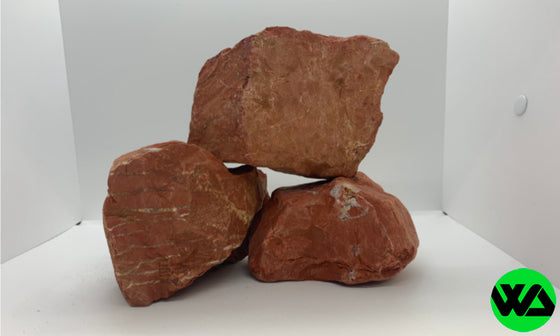 Red Jasper Rock Stone PER POUND