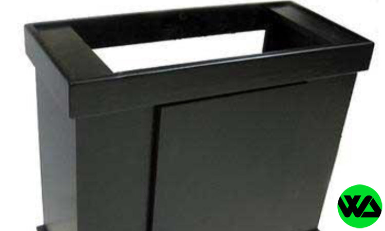 Marineland Majesty Cabinet Stand 24x12 Black - Fits 20 gallon high aquarium