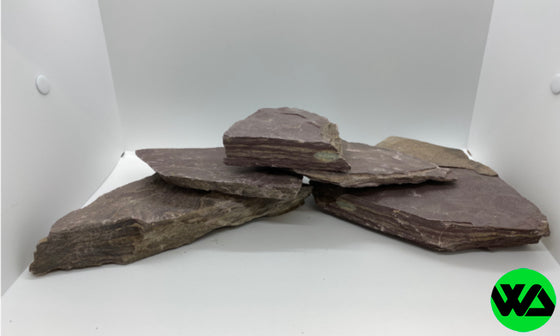 Whitlyn Aquatics - Purple Slate Rock