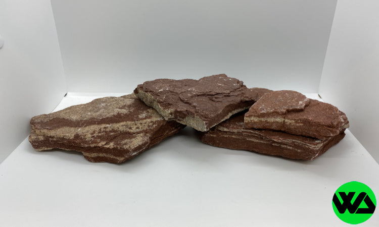 Whitlyn Aquatics - Red Slate Rock