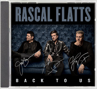 'Back To Us' Signed CD Preorder