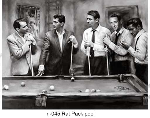 N 045 Rat Pack Pool