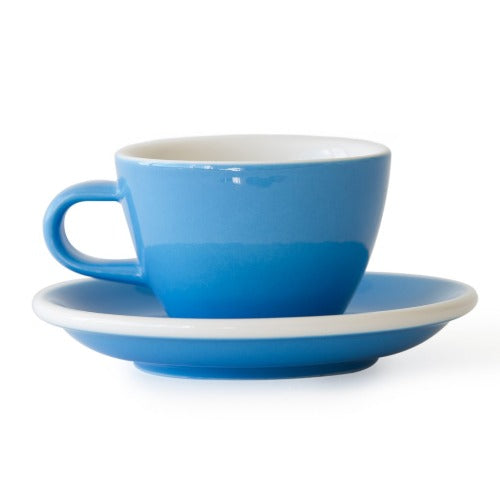 كوب فلات وايت 150 مل - EVO Flat White Cup with Saucer