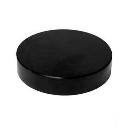 70-400 Black Smooth Lid - 25 Count