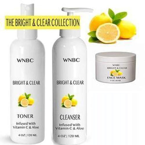 Bright & Clear Lemon, Aloe & Vitamin C Skincare Startup Kit