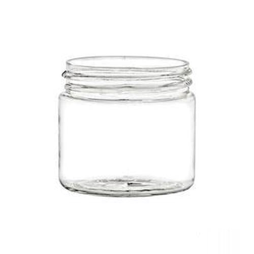 PLASTIC JARS, 2 OZ. PET STRAIGHT SIDED SINGLE WALL ROUND WITH A 48/400