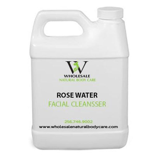Organic Rose Water Facial Cleanser