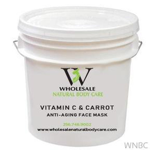 Vitamin C & Carrot Anti-Aging Face Mask