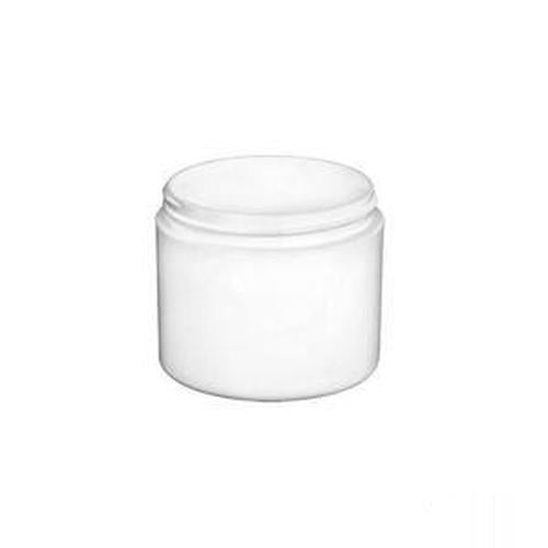Jar - White 4 Oz Double Wall 25 Count