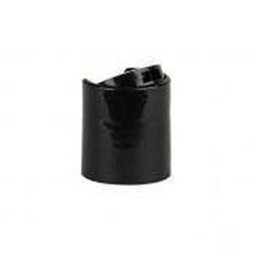 20-410 Black Push Cap - 25 Count
