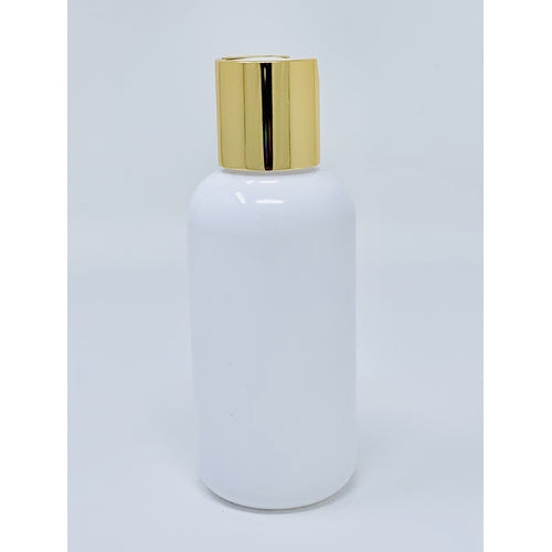 Gold Top & White 4 Oz Bottle 12 Pk