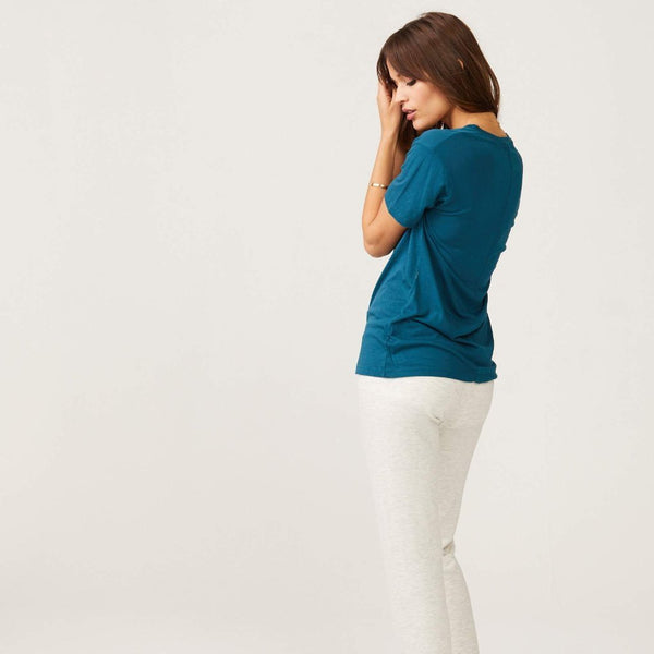Relaxed V Neck Tee