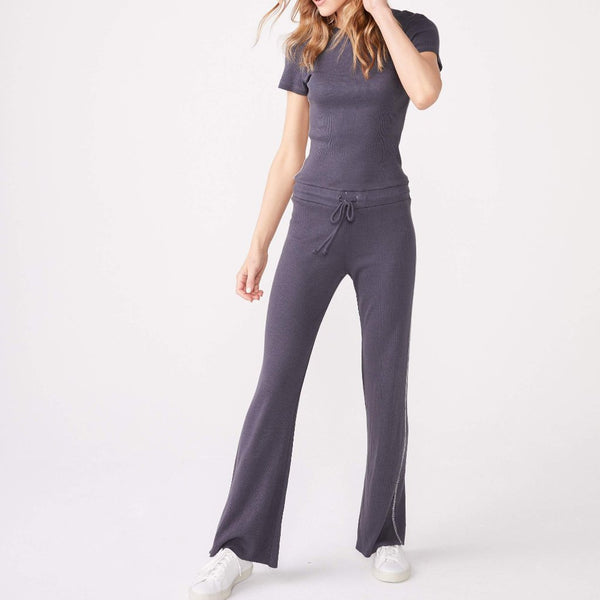 Contrast Stitch Jumpsuit