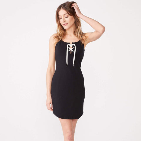 Lace Up Dress (1650792595558)