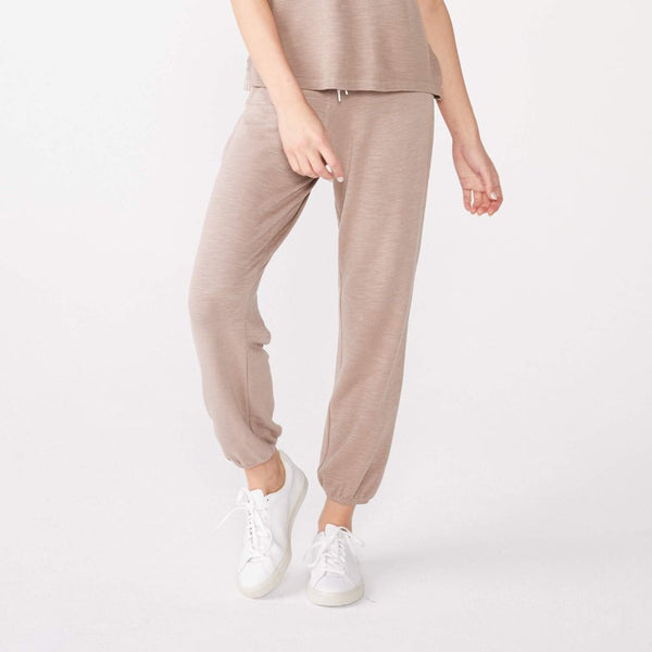 Supersoft Stitched Waist Contrast Stitch Sweats