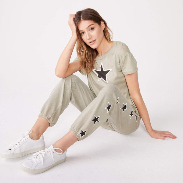 Star Print Vintage Sweats