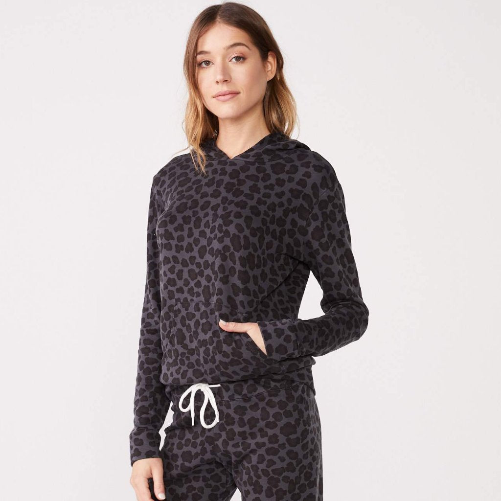 Leopard Pullover Hoody