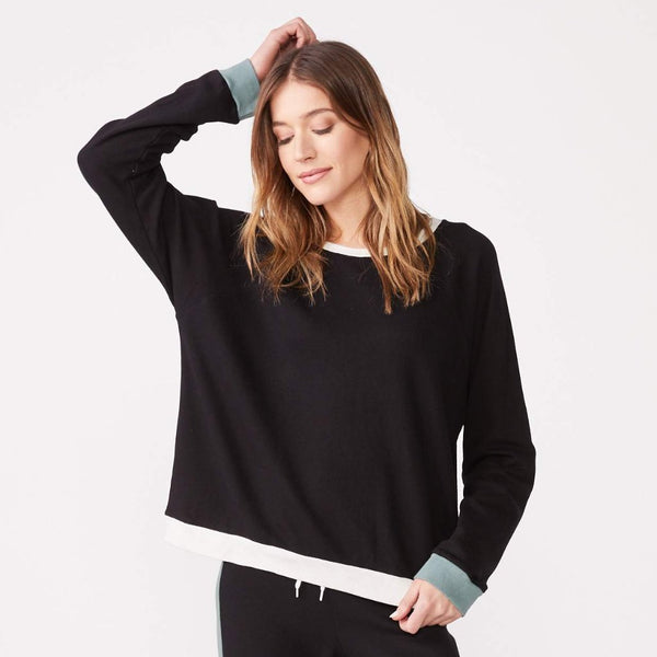 Color Block Oversized Raglan