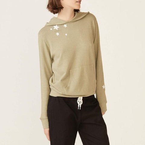 Embroidered Star Pullover Hoody