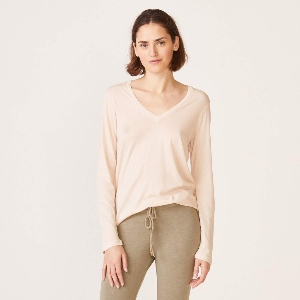 Long Sleeve Relaxed V