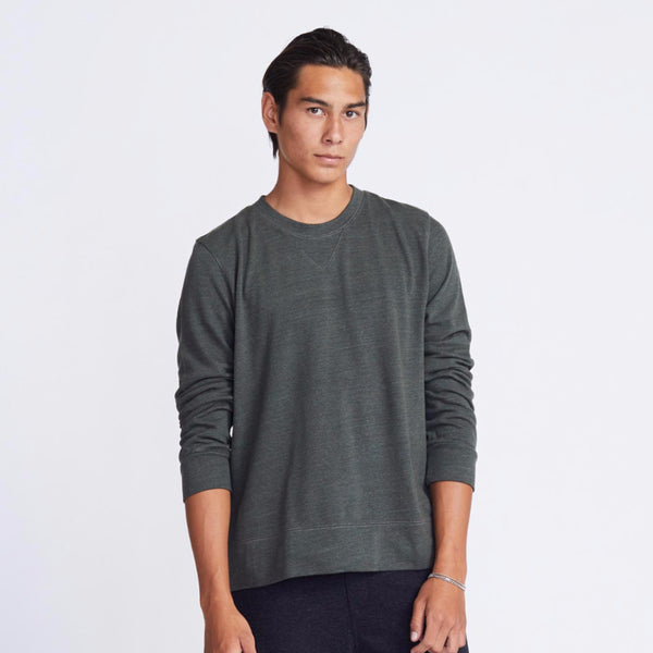 Fleece Crew Neck Sweatshirt