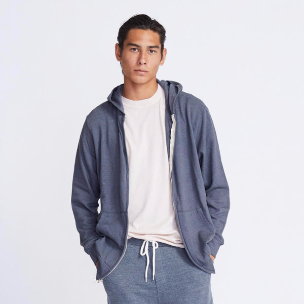 Fleece Zip Up Hoody