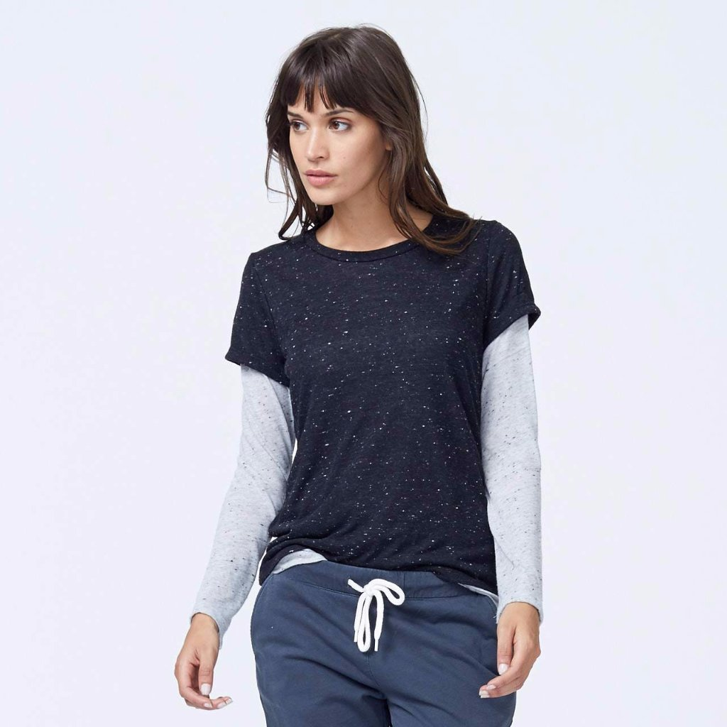 Speckled Double Layer Tee
