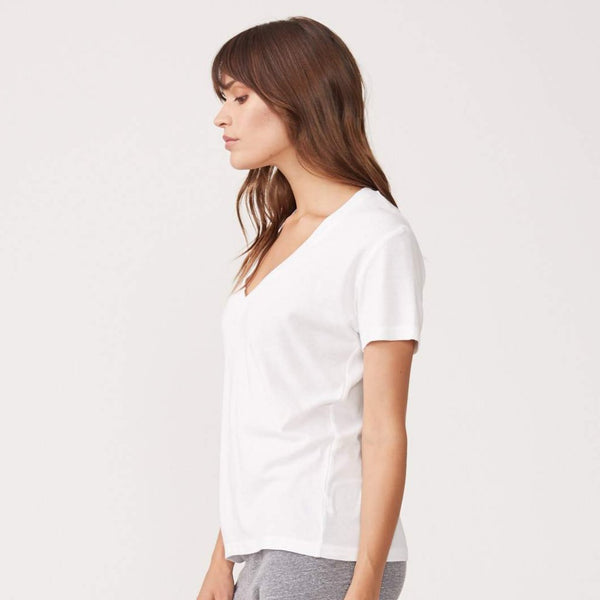 Fitted V Neck Tee