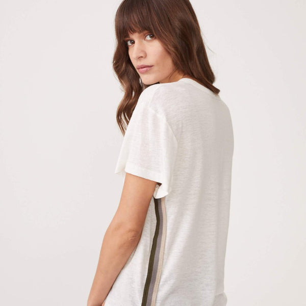Neutral Stripe Vintage Tee