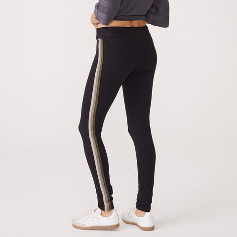 Neutral Stripe Legging