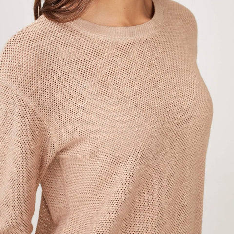 Supersoft Mesh Sweatshirt