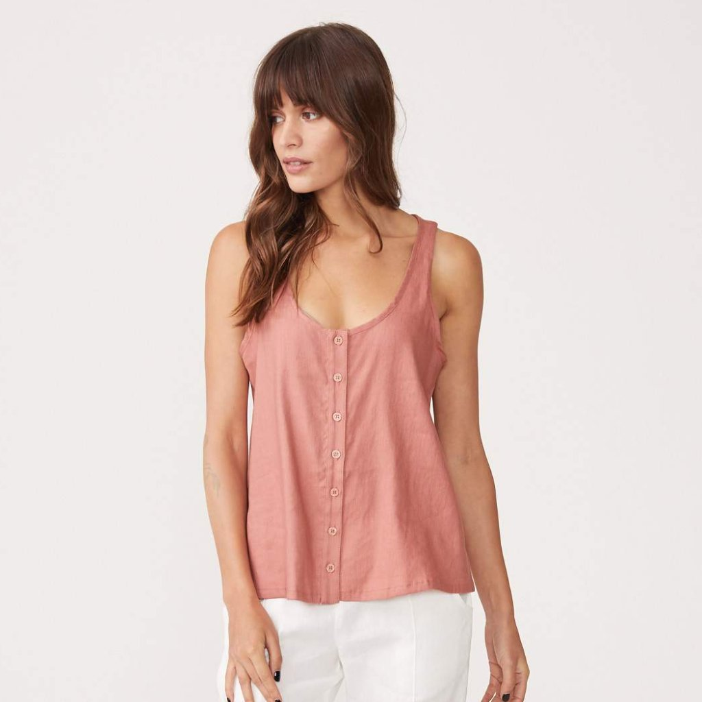 Button Down Tank
