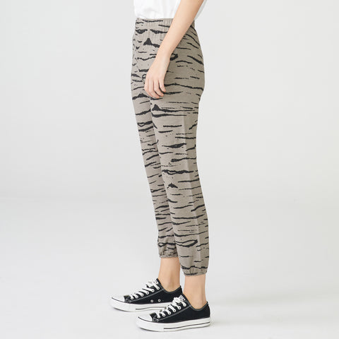 Supersoft Tiger Elastic Waist Sweats (3921981603942)