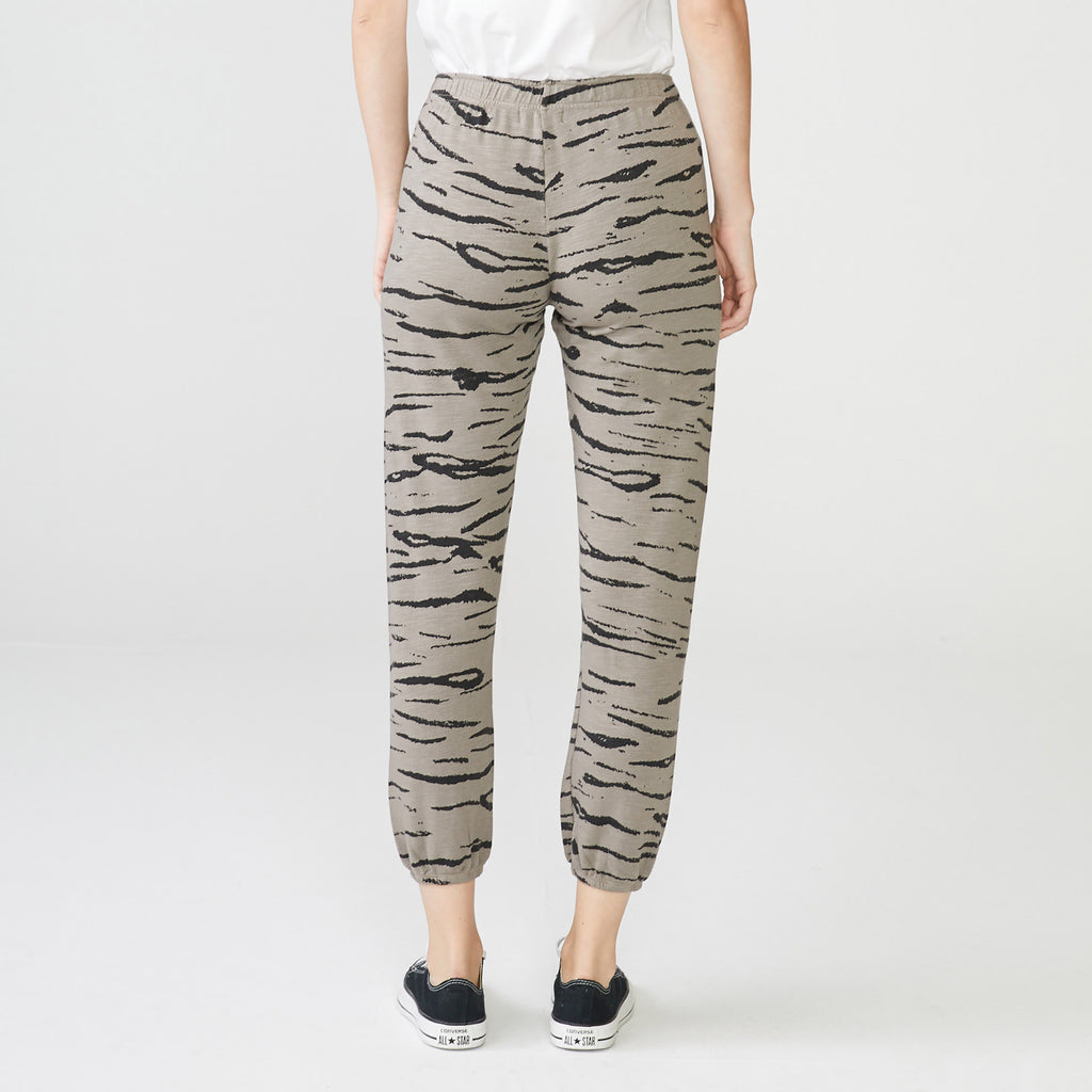 Supersoft Tiger Elastic Waist Sweats