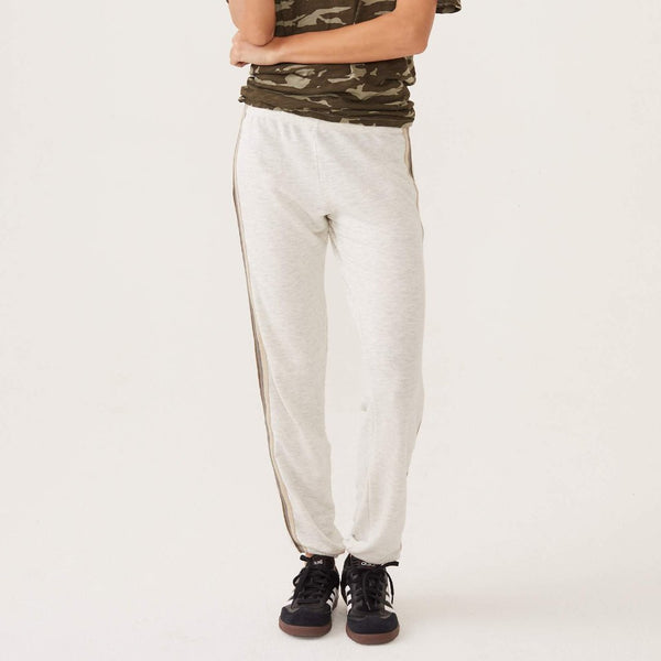 Supersoft Neutral Stripe Sweats