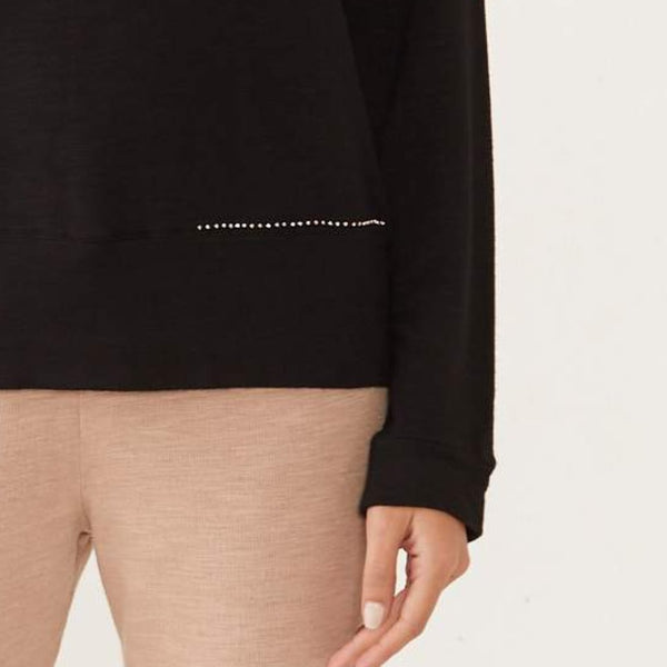 Supersoft Studded Sweatshirt